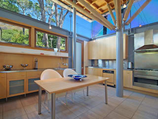 Kitchen & Breakfast Area:  Built-in kitchens by Van der Merwe Miszewski Architects