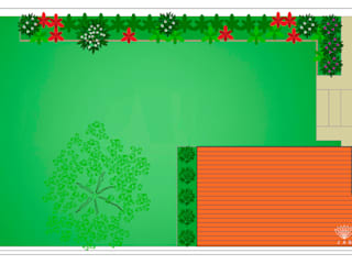 Plano Geral: Jardins ecléticos por JAG arquitetura paisagista
