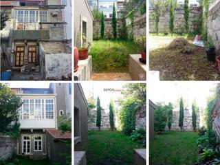 Antes e Depois:   por JAG arquitetura paisagista
