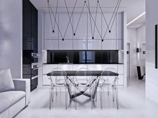 Cocinas de estilo minimalista por Дмитрий Коршунов