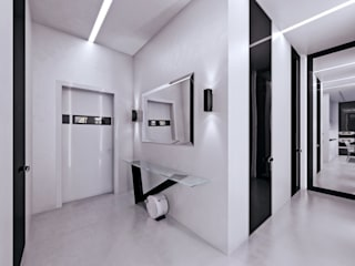 Pasillos y vestíbulos de estilo  de Дмитрий Коршунов