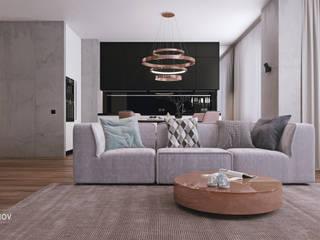 Wohnzimmer von Дмитрий Коршунов