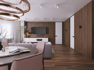 Salas de estar ecléticas por Дмитрий Коршунов