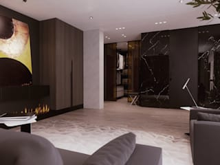 ЖК «Дом на Беговой» | Residential complex «Dom na Begovoy»: Гостиная в . Автор – Дмитрий Коршунов