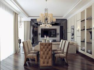 ЖК «Садовые кварталы» | Residential complex «Sadovie kvartali»: Гостиная в . Автор – Дмитрий Коршунов