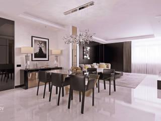 ЖК «Алые паруса» | Residential complex «Alie Parusa»: Гостиная в . Автор – Дмитрий Коршунов