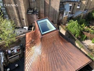 London Garden House:   por CHUVAS arquitectura,Moderno