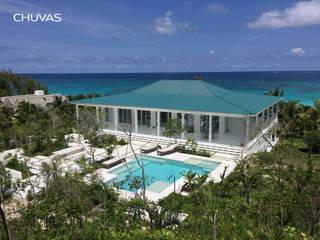Bahamas House: Moradias  por CHUVAS arquitectura,Mediterrânico