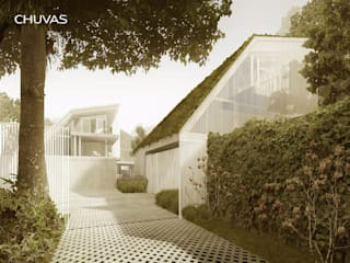 Detached home by CHUVAS arquitectura