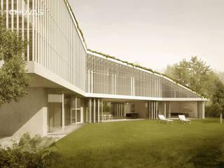 Casas Geminadas: Moradias  por CHUVAS arquitectura,Moderno