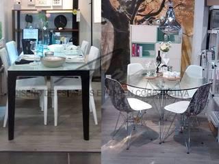 comedores estilo  industrial:  de estilo  por Sara villa diseño interior