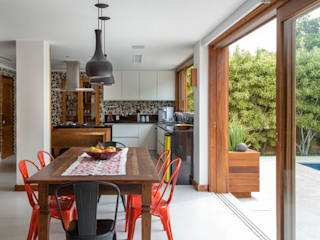 Cocinas de estilo rústico de Raquel Junqueira Arquitetura Rústico