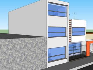 Casa Tlahuac: Escaleras de estilo  por Grupo Avatecsys