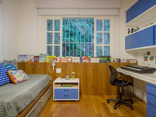 Boys Bedroom by Raquel Junqueira Arquitetura, Modern
