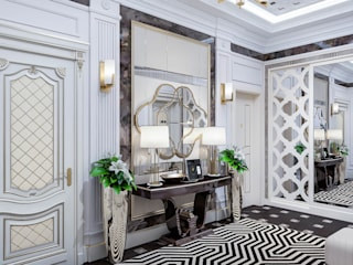 Entrance Hall:   by DMR DESIGN AND BUILD SDN. BHD.