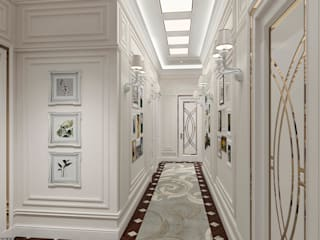 Corridor - Interior design:   by DMR DESIGN AND BUILD SDN. BHD.