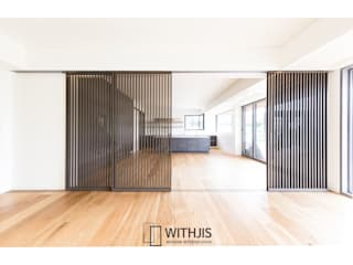 WITHJIS(위드지스) Country style dining room Wood Brown