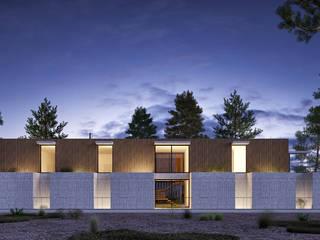 CASA SG2 - Moradia na Herdade da Aroeira - Projeto de Arquitetura: Moradias  por Traçado Regulador. Lda,Moderno