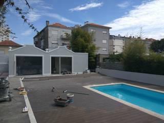 Remodelação de Palacete Areosa Porto Hotéis clássicos por PROJETARQ Clássico