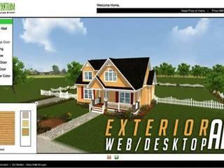 Virtual Interactive Desktop & WebGL Application For Exterior Elevation By Yantram Virtual Reality Studio - New Yoek, USA Klasik Klinikler Yantram Architectural Design Studio Klasik