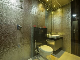4 BHK Luxurious Project Modern bathroom by AreaPlanz Design Modern