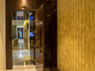 AreaPlanz Design Modern corridor, hallway & stairs