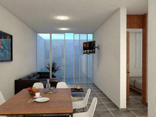 Moderne Esszimmer von Zona Arquitectura Más Ingeniería Modern