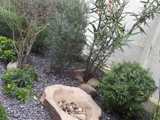 Jardín en Chicureo : Jardines de estilo moderno por Bächler Paisajismo