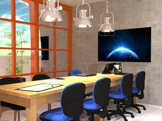 Sala comercial - escritório Opa Web:  industrial por Start Office - Design para pequenos negócios,Industrial