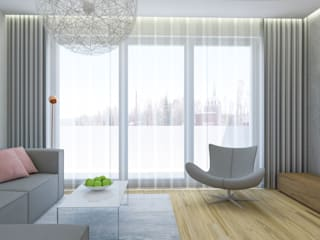Kącik wypoczynkowy - Creatovnia: styl , w kategorii Salon zaprojektowany przez Creatovnia