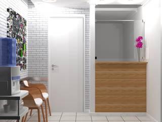 Sala de espera - consultório por Start Office - Design para pequenos negócios Moderno