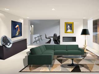 Modern Living Room by Atelier3 Modern