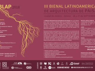III Bienal Latinoamericana de Arquitectura de Paisaje: Jardines de estilo moderno por Sociedad de Arquitectos Paisajistas de México, A.C.