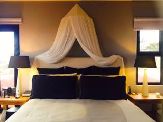 Casa en Todos Santos Dormitorios tropicales de Cortinas y Tapices Vanessa Tropical