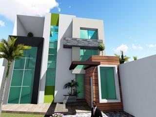 CERON: Casas unifamiliares de estilo  por GADC ARQUITECTOS