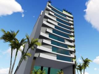 CONSULTORIOS: Condominios de estilo  por GADC ARQUITECTOS