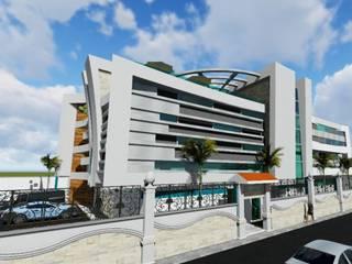 CLINICA: Casas unifamiliares de estilo  por GADC ARQUITECTOS