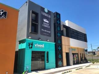 Vivest Pharmacy & Healty Bar: Espacios comerciales de estilo  por IGC ARQUITECTOS