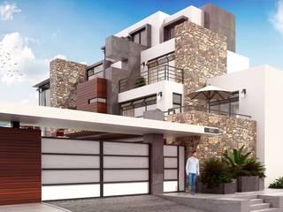Casa GJ: Casas de estilo  por IGC ARQUITECTOS