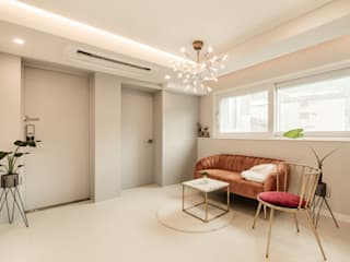 Salon moderne par 봄디자인 Moderne