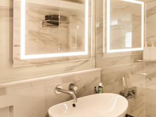 신림동 빌라 22PY 모던스타일 욕실 by 봄디자인 모던