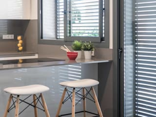Projekty,  Kuchnia na wymiar zaprojektowane przez Silvia R. Mallafré,