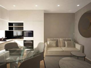 Moderne Wohnzimmer von Sara Santos Arquitecta Modern