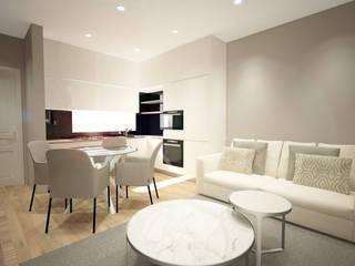 Sara Santos Arquitecta Modern dining room