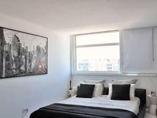 Nuno Ladeiro, Arquitetura e Design 臥室床與床頭櫃