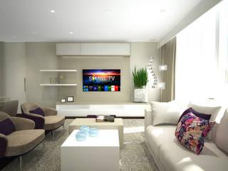 Sara Santos Arquitecta Living roomAccessories & decoration