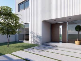Casa L: Casas de estilo minimalista por DST arquitectura