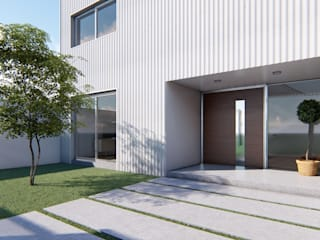 Minimalist houses by DST arquitectura Minimalist