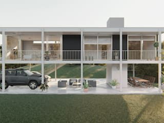 Minimalist house by DST arquitectura Minimalist