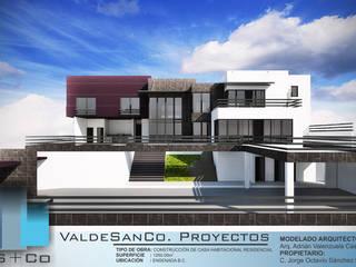 Residencia OB_ 14:  de estilo  por Aval Proyectos